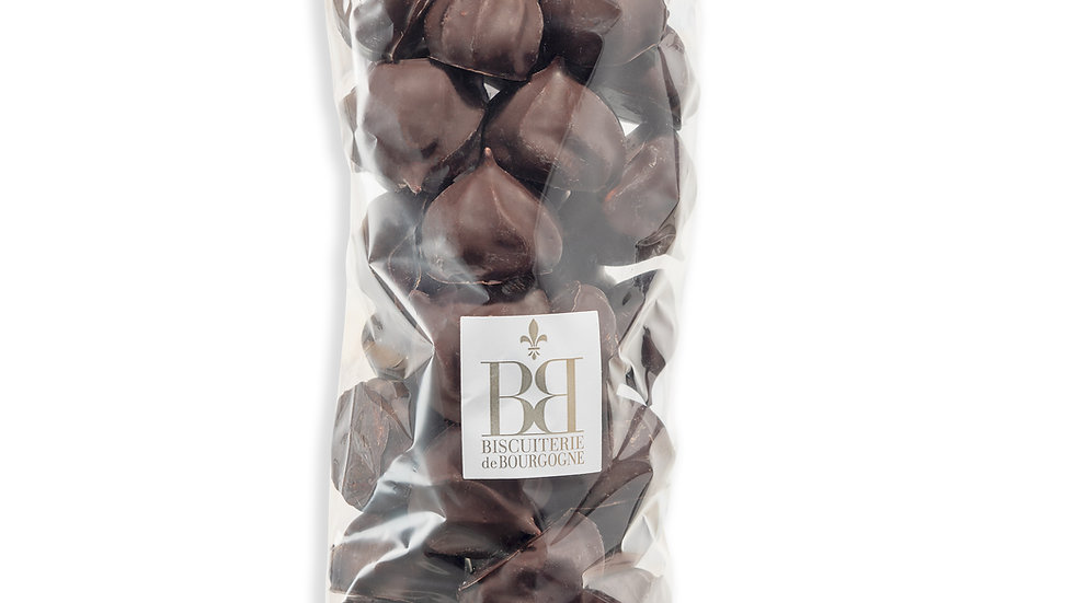 Meringues enrobés de Chocolat Noir