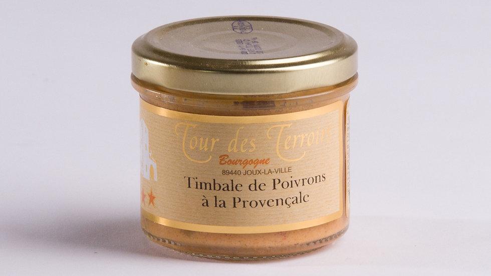 Timbale de Poivron à la Provençale