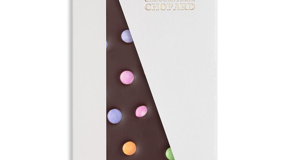 Tablette de Chocolat Noir aux Smarties