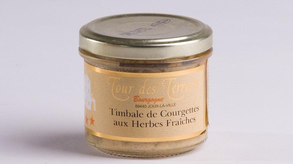 Timbale de Courgettes aux Herbes Fraîches