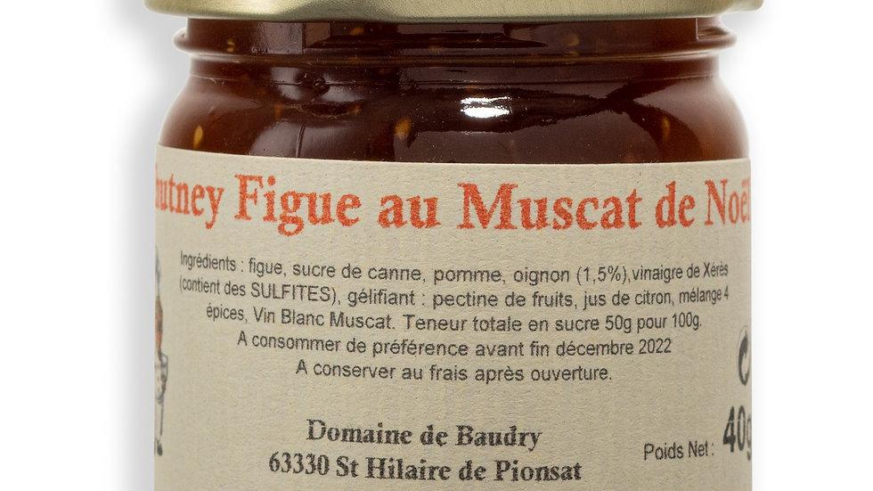 Chutney de Figue au Muscat de Noël