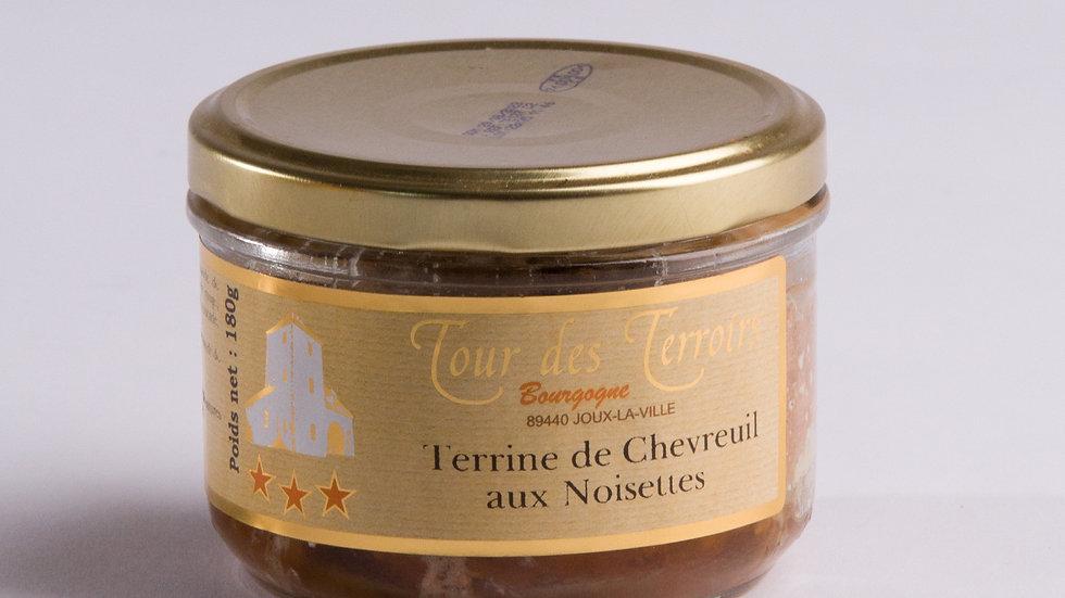 Terrine de Chevreuil aux Noisettes