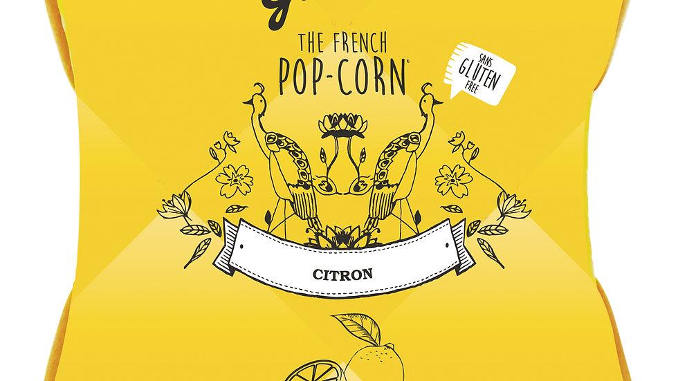 Pop-corn saveur Citron