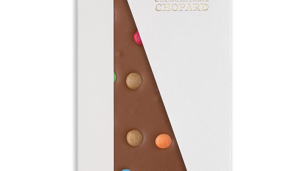 Tablette de Chocolat au Lait aux Smarties