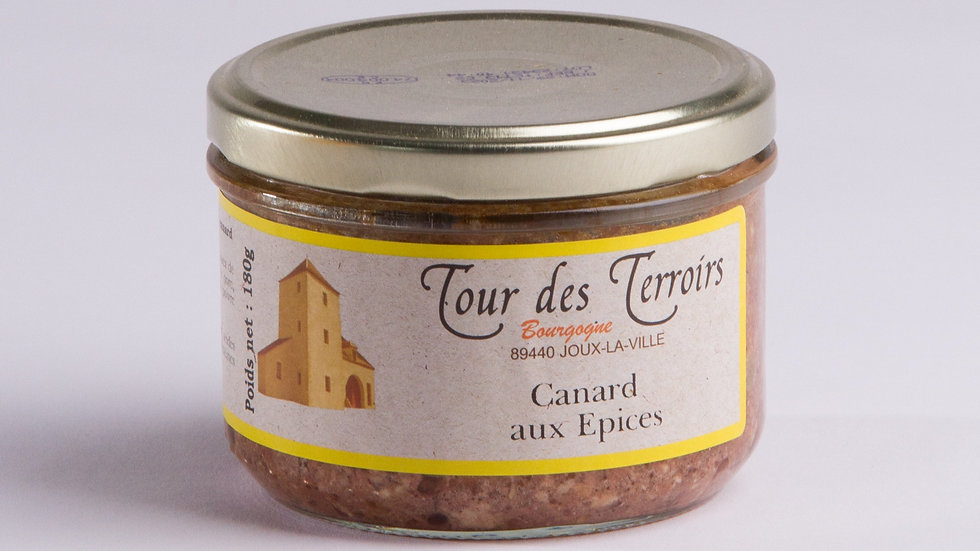Terrine de Canard aux épices