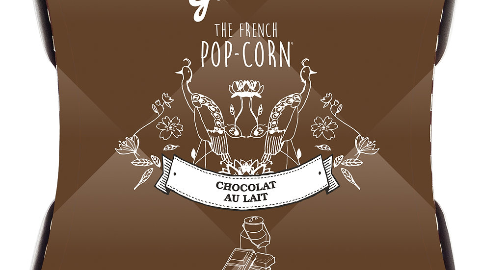 Pop-corn au Chocolat au Lait