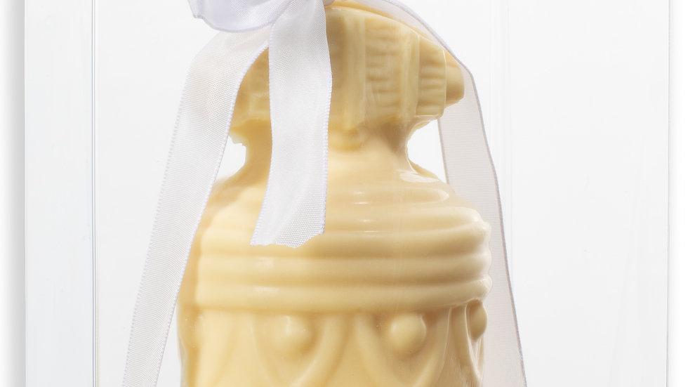 Cloche chocolat blanc