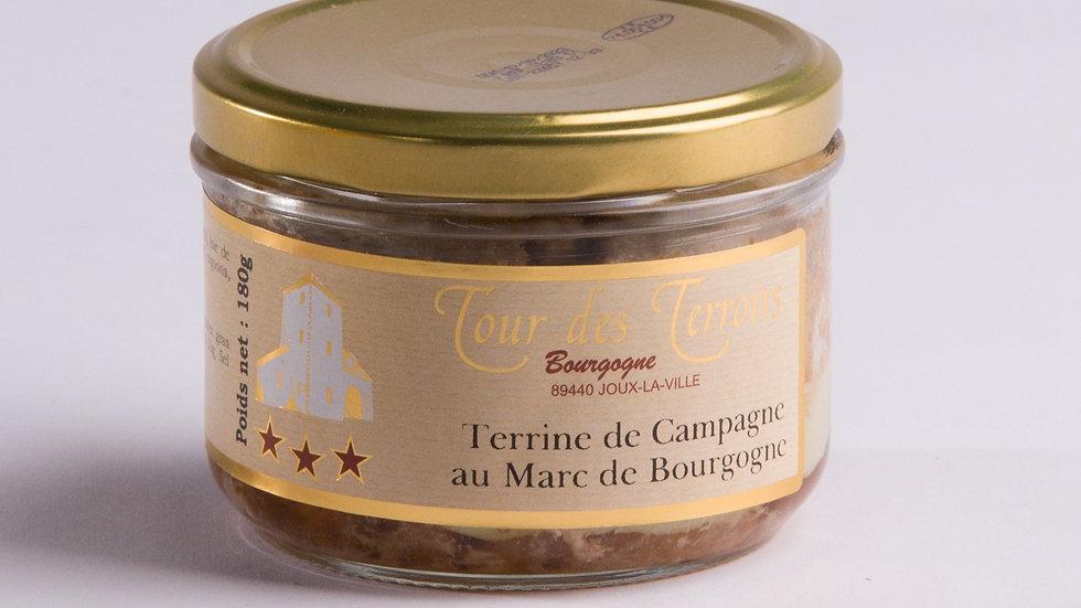Terrine au Marc de Bourgogne