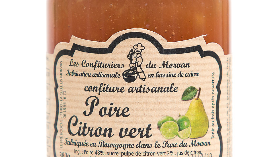 Confiture de Poire / Citron vert