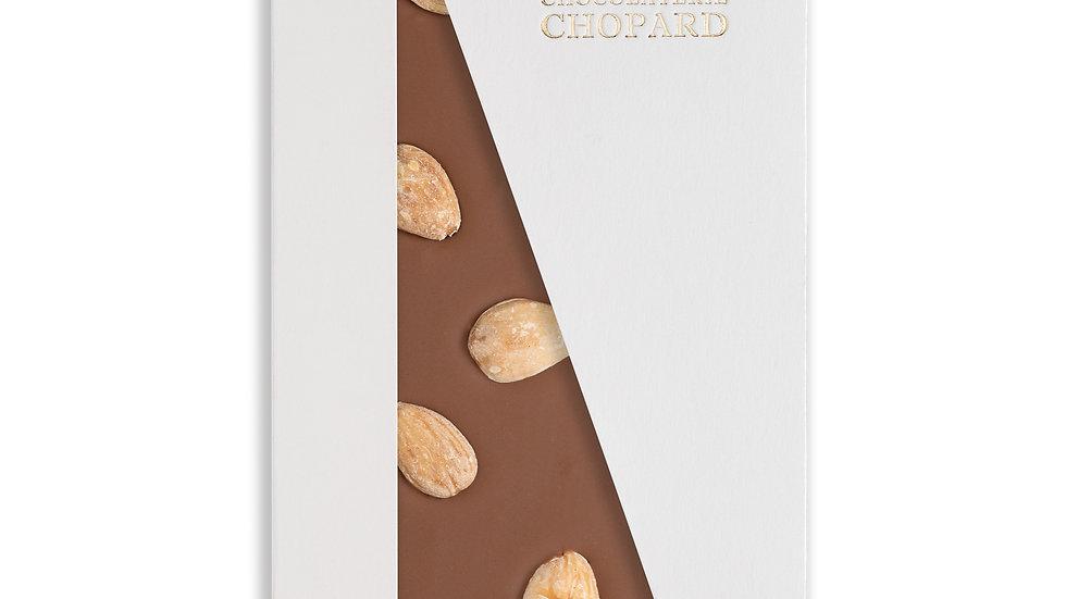 Tablette de Chocolat au Lait aux Amandes entières
