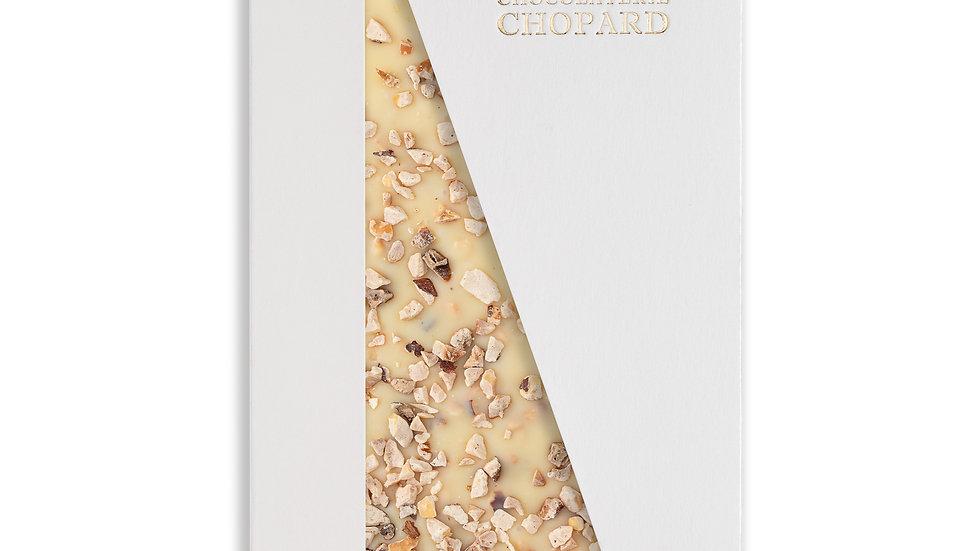 Tablette de Chocolat Blanc éclats de noisettes