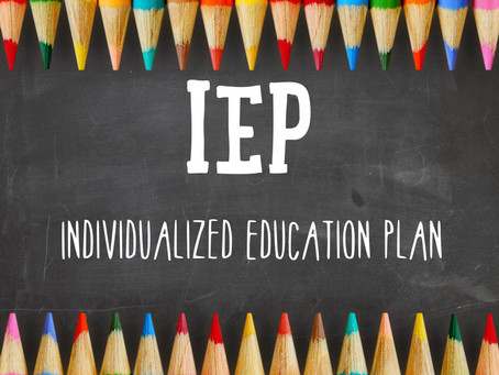 Take Control of Student Support: The Start of the IEP Process