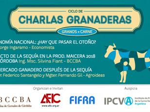 CHARLAS GRANADERAS  - MARZO 2018