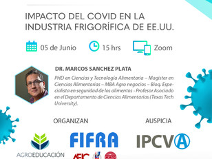 Charla: Impacto del Covid-19 en la Industria Frigorífica de EEUU