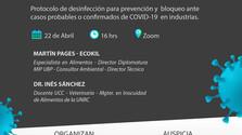 Charla COVID-19 USO DE PRODUCTOS SANITIZANTES