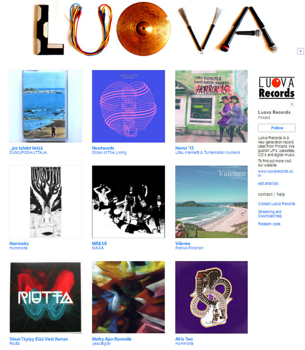Luova Records on Bandcamp