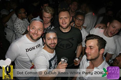 Group of clubbers