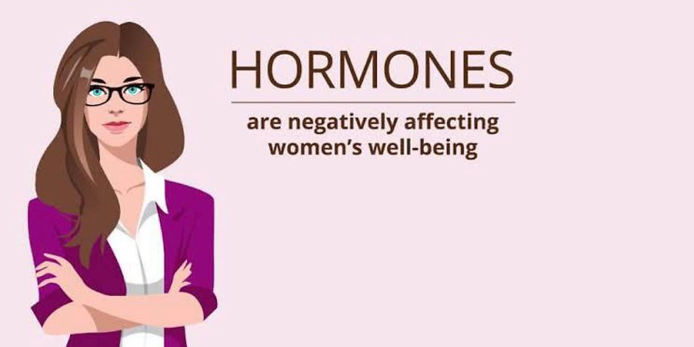 Hormones and natural solutions.