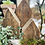 Thumbnail: Süße selbstgemachte Holzhäuser im Shabby-Vintage-Stil