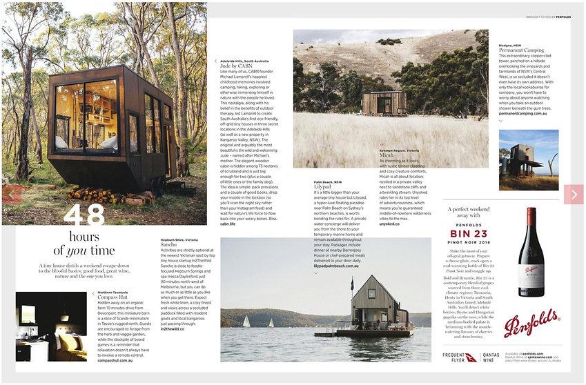 Qantas Travel Insider - Pages 110 & 111.