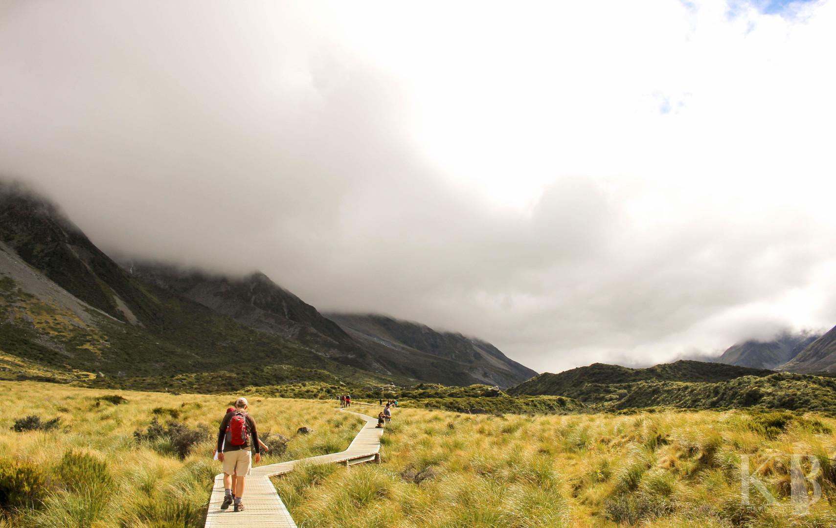 Hooker Track New Zealand