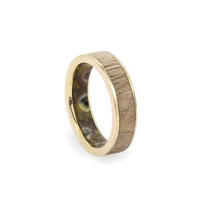 Oak & Ocean Jasper Gold Ring