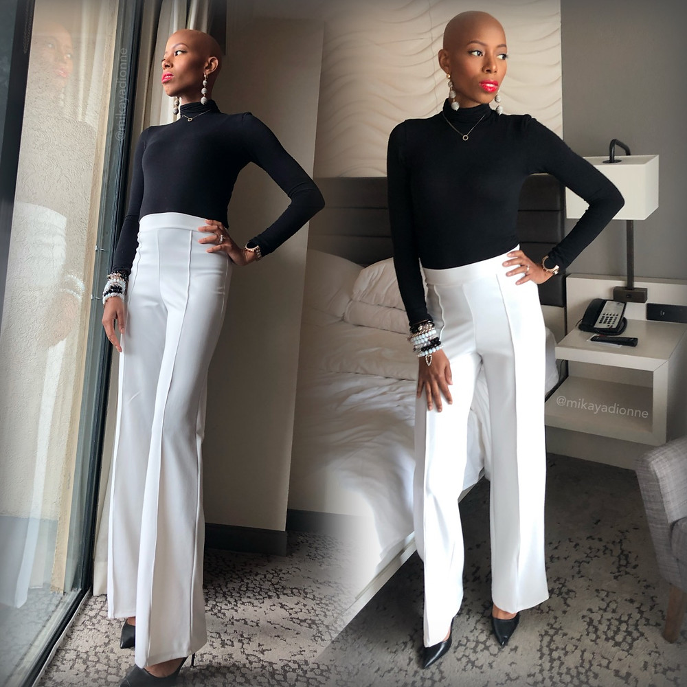 Mikaya Dionne's #GlambitionStyle roundup for this classic, chic black and white look proves Chanel's statement to be true. The two colors' beauty is absolute and the perfect harmony.