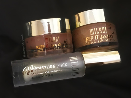 Milani's NEW Lip Care Line REVIEW + My Lip Care Routine