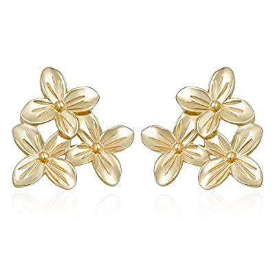 Cluster Flower Stud Earrings