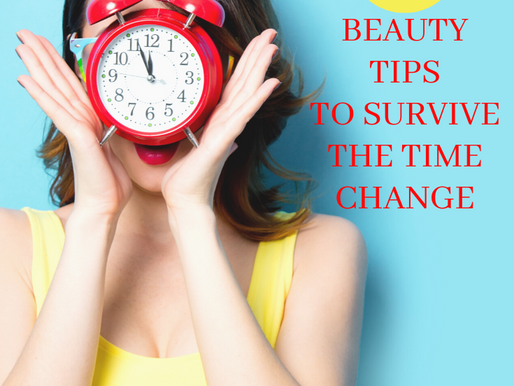 Spring Forward: 8 Beauty Tips to Survive The Time Change