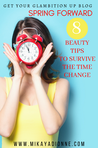 Daylight Saving Time is back which means one less hour of sleep and one less hour to get ready. Find tips to help you and your beauty routine survive the time change.