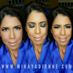 Fitness Competition Makeup by Mikaya
