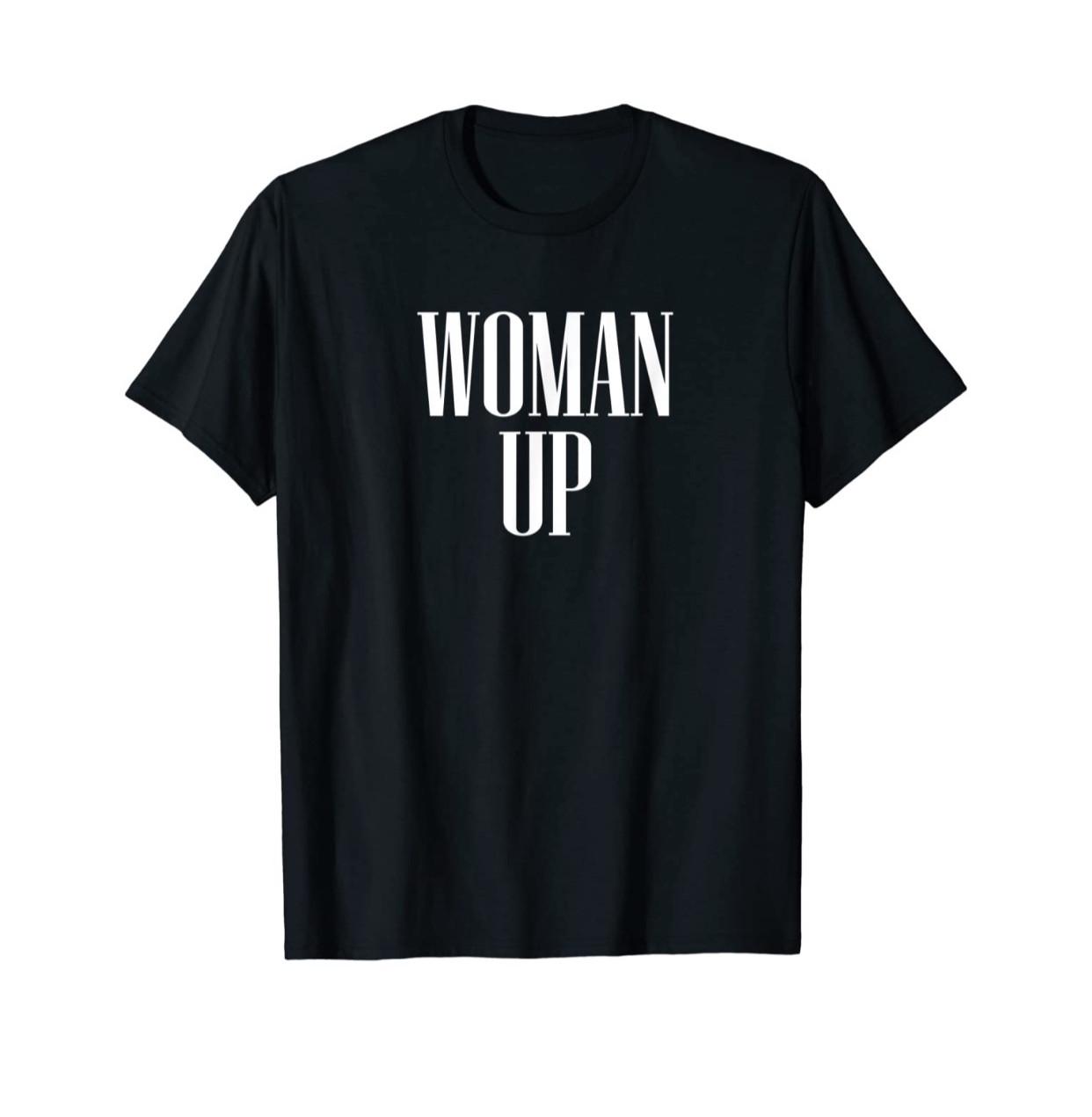 Woman Up Printed T-Shirt