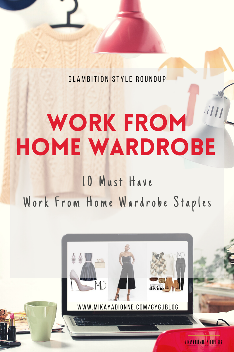 Working from home can sometimes be a hindrance to our productivity, but did you know what you wear can affect your mood and productivity? This list of work from home wardrobe staples will help keep you stylish, comfortable and productive.