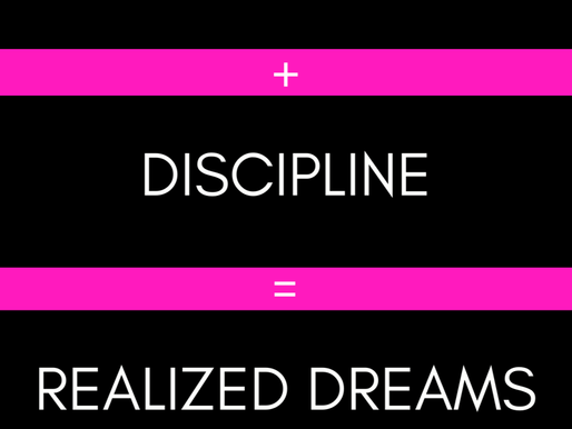 Honesty, Discipline & Consistency... Getting Back to Purpose
