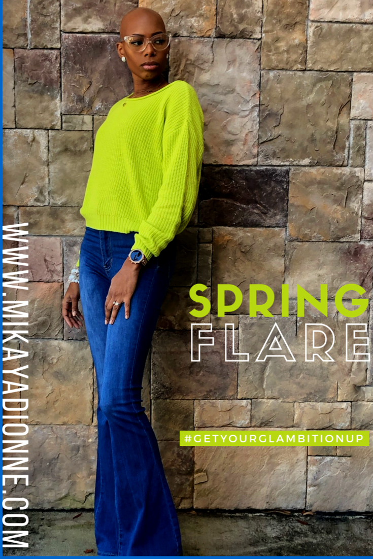 Add flare and bright colors to your spring wardrobe! Get the scoop on this #GlambitionStyle Roundup with Mikaya Dionne.