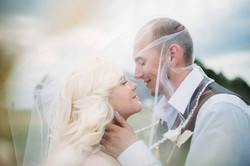 Laura Bliss Wedding with Husband