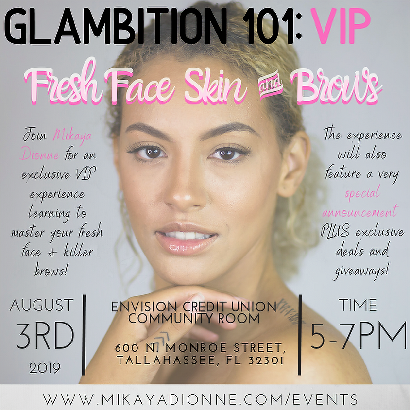 V.I.P. Fresh Face Skin and Brows Class
