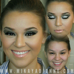 Prom Makeup by Mikaya Dionne