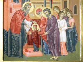 Intrarea Maicii Domnului in Biserica -    21 noiembrie