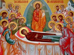 Intru nastere fecioria ai pazit, intru adormire lumea nu ai parasit, de Dumnezeu Nascatoare...