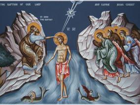 6 ianuarie +Botezul Domnului+ Sfânta si Dumnezeiasca Arãtare a Domnului Dumnezeului si Mântuitorului