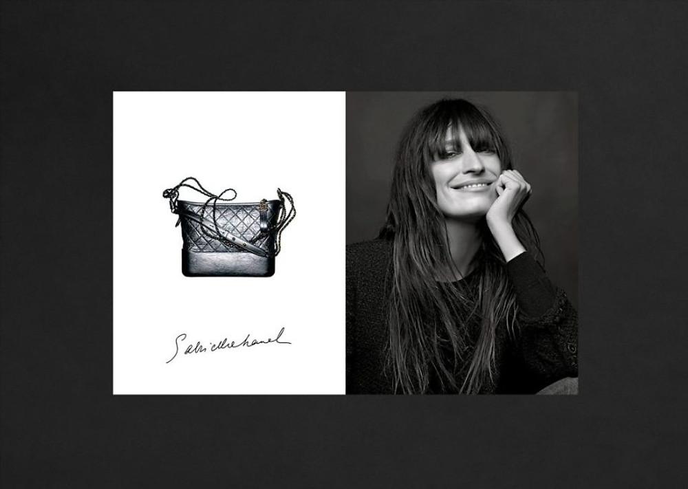 Caroline de Maigre in Chanel ad