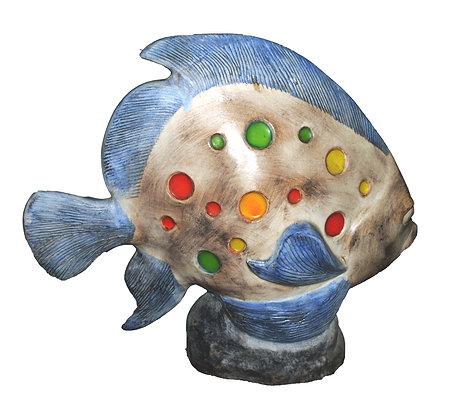 Grand poisson en céramique