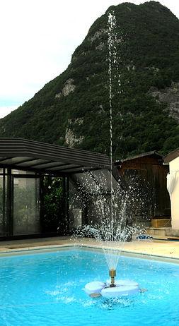Fontaine pour plan d'eau