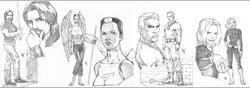 Original Sketches circa 2002