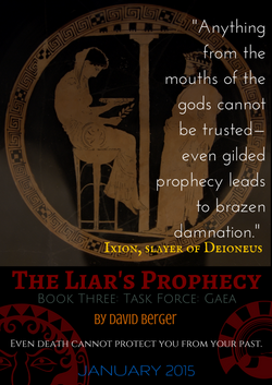 Poster for The Liar's Prophecy