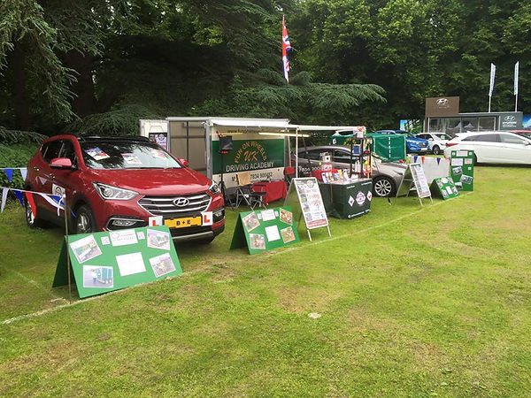 Fun on Wheels UK at Cars on the Green & The Bury Motor Show 2016