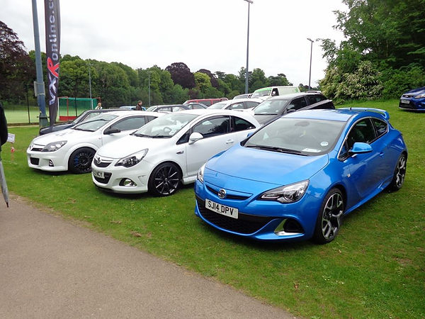 VXR Online at Cars on the Green & The Bury Motor Show 2016