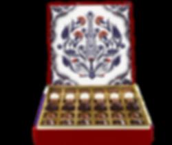 Iznik, Turkish style box, hand made.